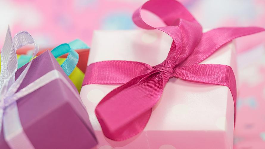 彼女からプレゼント
