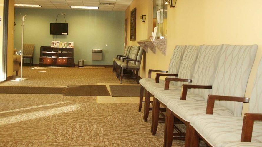 病院待合スペース
