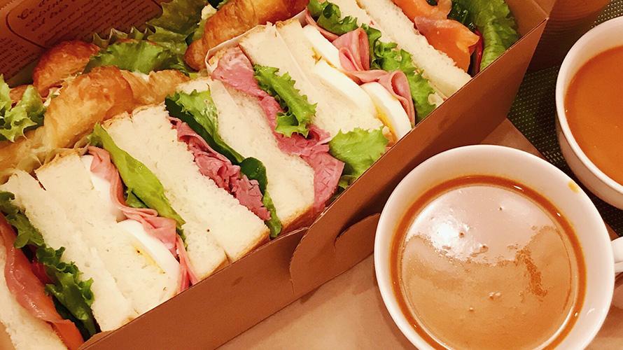 ホテルでの時間配分とサンドイッチ